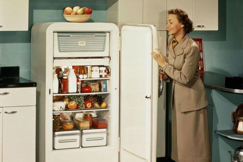 História da geladeira